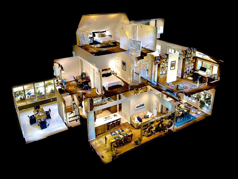 Planimetria 3D con Virtual Tour 3D / Visite virtuali